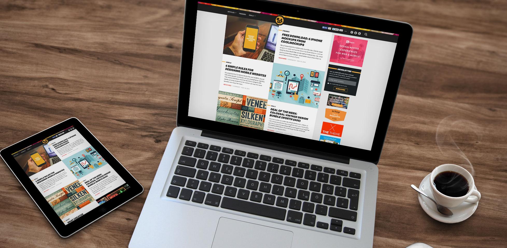 web designer depot gets a redesign